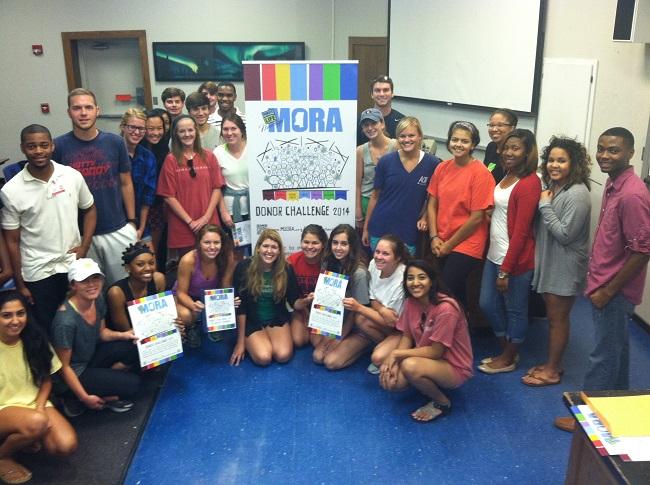 MORA Training for Alpha Epsilon Delta