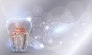 futuristic image of a tooth